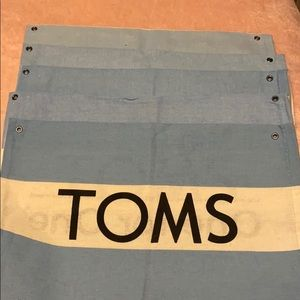 (5) TOMS dust bags